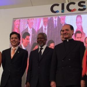 Conferencia de Kofi Annan en el CICS.