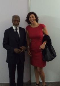 Kofi Annan y yo !