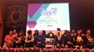Medallistas 2015  Medalla Omeccíhuatl